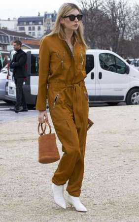 3c9vtm-l-610x610-jumpsuit-camille+charriere-blogger-mustard-boots-white+boots-mid+heel+boots-bag-simon+miller+bag-handbag-suede-suede+bag-streetstyle-sunglasses