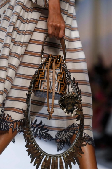 Fendi Fashion Show, Ready to Wear Collection Spring Summer 2018 in Milan