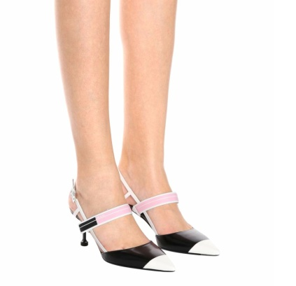 Prada slingback pumps copy