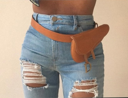Beyonce dior belt bag copy