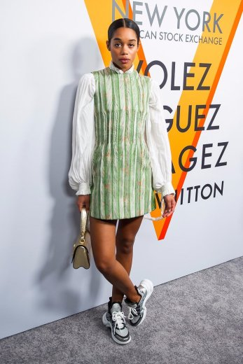 Laura-Harrier-Louis-Vuitton-Sneakers