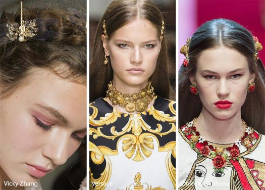 spring_summer_2018_hair_accessories_trends_gold_barrettes