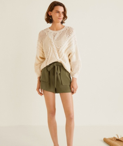 Flowy shorts Mango copy