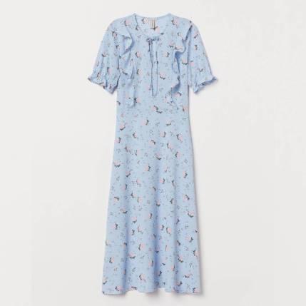 Flounced dress £29.99