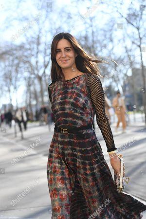 Street Style, Fall Winter 2019, Paris Fashion Week, France - 26 Feb 2019